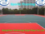 Zachte en Mooie Openlucht Met elkaar verbindende Sporten die voor Basketbal vloeren