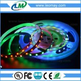 El color ideal mágico RGBY 2811IC SMD5050 impermeabiliza tiras flexibles del LED