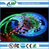 마술 꿈 색깔 RGBY 2811IC SMD5050는 유연한 LED 지구를 방수 처리한다