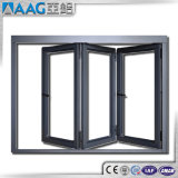 Het Dubbele Glas die van het Terras van het aluminium Vouwend het Aluminium die van Deuren Deuren vouwen glijden