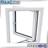 アルミニウムプロフィールの開き窓のWindowsの倍のガラス窓