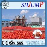 Linha de produção da pasta de tomate
