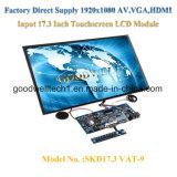 Zoll TFT LCD der Noten-17.3