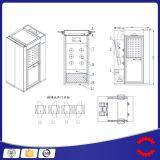 連結のドアのクリーンルームの空気シャワーを滑らせる産業空気シャワー
