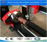 Máquina de estaca do metal do plasma do CNC da placa e da tubulação