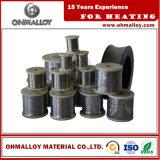 Fio de resistência elétrica estável Nicr30 / 20 Fornecedor Ni30cr20 Alloy for Defrost Deicing Machine