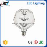Starry bombilla LED 120 - 160LM Retro de ahorro de energía LED Lámpara de Pentagram lámpara 3W E27