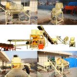 Hby4-10 Machine de fabrication de blocs de sol hydraulique Bloc de blocs d'interverrouillage