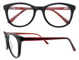 Met de hand gemaakte Acetaat Eyewear van de Glazen van het Frame van het schouwspel de Optische