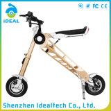 携帯用電気移動性によって折られるスクーター