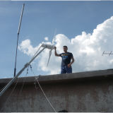 Gerador de turbina de vento horizontal de 2kw (SHJ-WH2000)