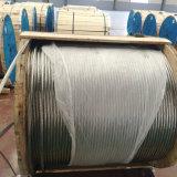 cable descubierto de arriba BS215 del conductor del Fox de 35mm2 Alumninum ACSR