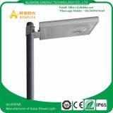 3 años de la garantía IP65 8W LED de calle de fabricante solar de la luz