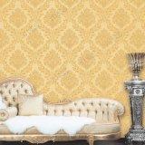Wand-Papier-Damast Belüftung-dekorative Tapete des China-preiswerter Preis-Großverkauf-3D