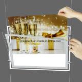 Caixa de luz LED de cristal para exibir a janela Shopping