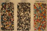 플라스틱은 중국에 있는 색깔 분류 기계를 재생한다