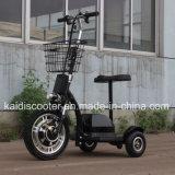 350W Hub Motor Tricycle électrique 3 roues Scooter électrique Zappy