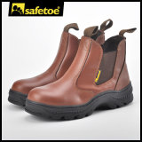 Sapatos de segurança de mineração sem laço para homem