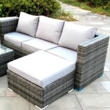 Hot Sale ! Hôtel simple Outdoor /rotin/combiné de coupe /l'Osier canapé/salon Set de meubles de jardin en plein air
