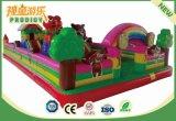 Замок новой спортивной площадки конструкции напольной раздувной для малышей и подростка