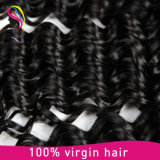 100% Remy Extensão do Cabelo Humano, Natural Virgin Brazilian Hair