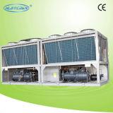 Pompa termica raffreddata aria aria-acqua economizzatrice d'energia della vite