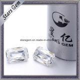 공장은 Moissanite에게 느슨한 돌 합성 다이아몬드를 만든다
