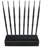 8bands POWER Adjustable GSM, Phs, WCDMA, 4G Lte and WiFi Mobile Signal Jammer