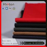 Multi Hosen-Gewebe der Farben-97% der Baumwolle3% des Spandex-235GSM