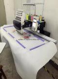 Одиночной компьютеризированная головкой смешанная плоская машина вышивки тканья