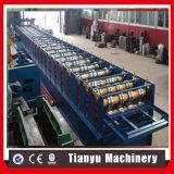 Roulis en acier de tuile de toit de paquet d'étage de Gavanized formant la ligne de production à la machine
