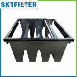 Industrieller Luftfilter-Rahmen-Plastikrahmen der Bank-4V