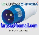 3p 6h IP44 16A Cee / IEC PP / PA Económica Plug Industrial