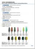 ufficio di lucidatura di gomma del silicone