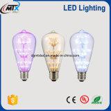 O diodo emissor de luz decorativo da corda dos bulbos de MTX ilumina do desenhador extravagante baixo das ampolas do diodo emissor de luz dos candelabros ampolas