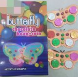 Moneta del cioccolato di Butterful dell'imballaggio di Plast