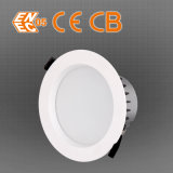Kit downlight Recortar 6 pulgadas 15W LED empotrado regulable de reequipamiento