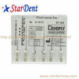 Зубоврачебные архивы Protaper канала корня Dentsply (с крестом) оборудования медицинской лаборатории стационара хирургического диагностического