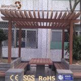 Pergola plástico facilmente montado da madeira WPC 3X4 do jardim ao ar livre