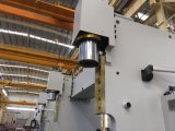 Máquina de dobramento do metal hidráulico da placa Wc67y-160X6000 de aço
