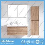 Mobília a mais atrasada do banheiro do espaço do MDF da madeira popular e moderna a grande (BF142D)