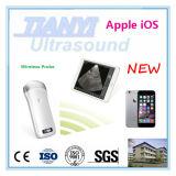 Punta de prueba sin hilos Handheld del ultrasonido para la clínica