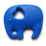 New Elephant en forme de teinture à la nourriture et de qualité Teether Silicone Teether pour bébé
