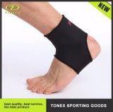 Tela respirable protectora del neopreno de los deportes elásticos con la correa de la paréntesis de tobillo