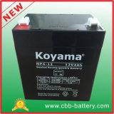 Batterie profonde promotionnelle populaire 12V4ah d'UPS de cycle d'AGM