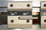 Dobladora de la placa de acero Wc67y-100X3200 y máquina plegable hidráulica