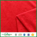 Tessuto polare poco costoso di lavoro a maglia del panno morbido stampato abitudine del poliestere 100