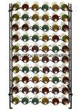 Самомоднейшая стойка индикации вина шкафа вина бутылки металла 60 для хранения