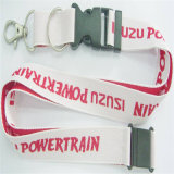 Горячая продажа индивидуальные полиэстер тканого строп предохранительного пояса комбинации резиновые металлический крюк