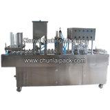Автоматические завалка чашки сока и машина запечатывания